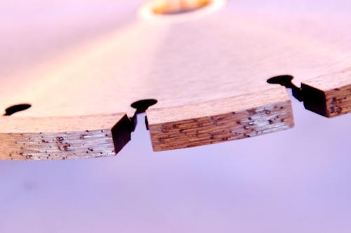 Tuckpoint Blades (Square Segment)